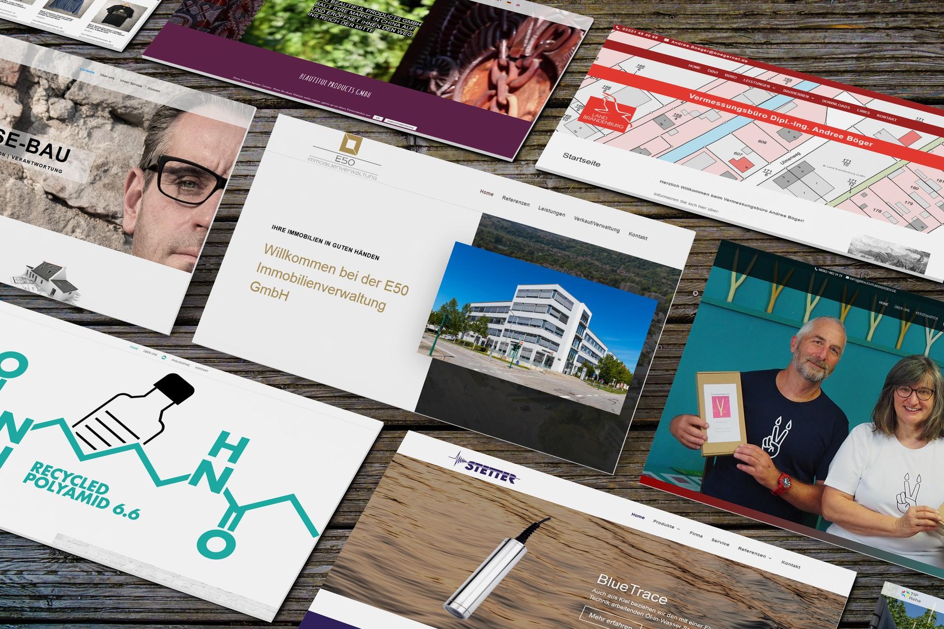 Webdesign für Website und Webshop in Harsleben erstellen lassen