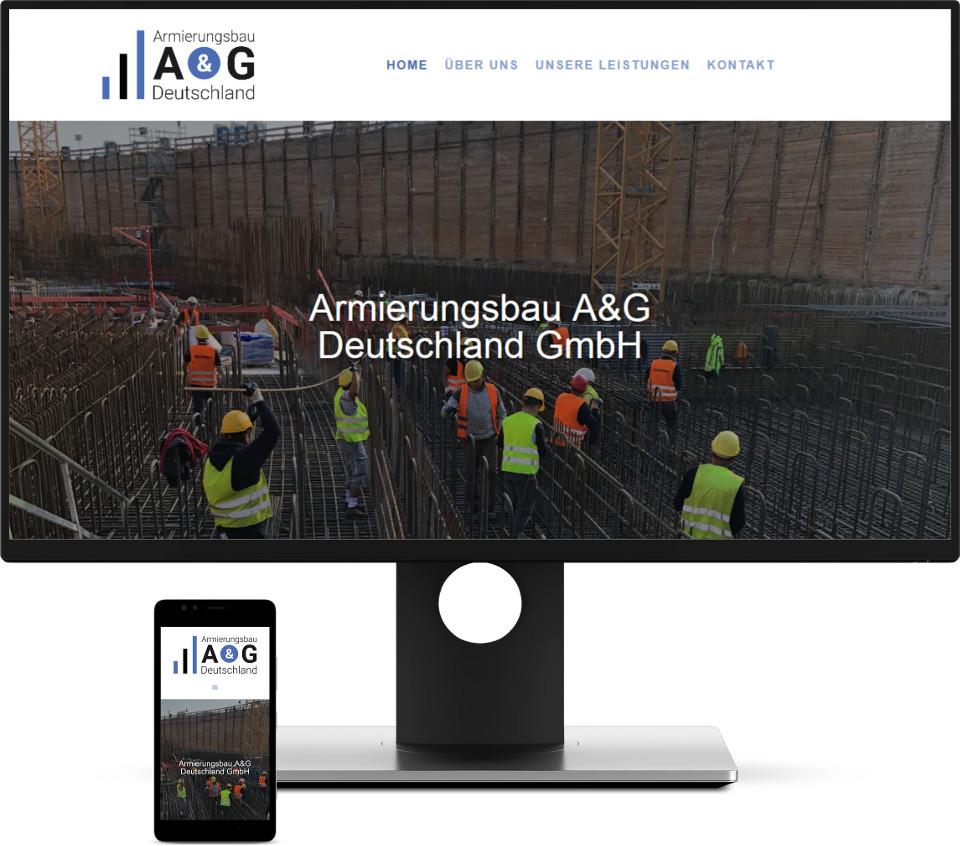 Webdesign Harz Bauunternehmen Website