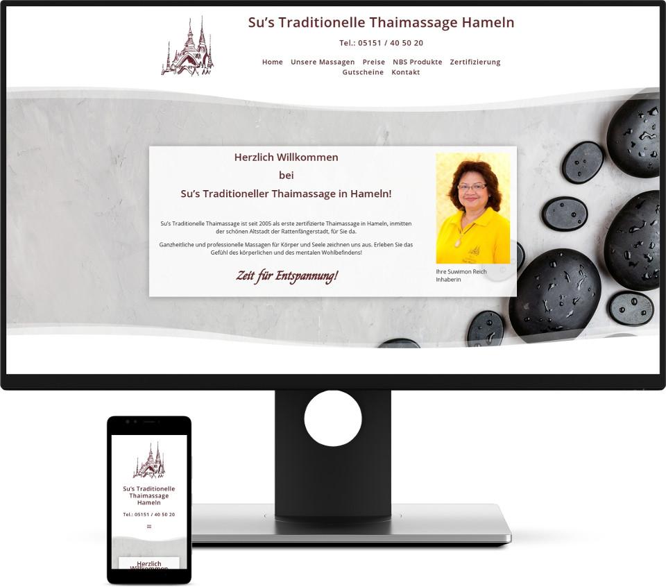 Webdesign Harz Massagepraxis