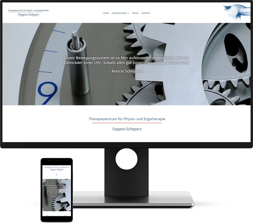 Webdesign Harz Website Physiotherapie